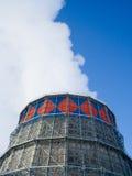 冷却的蒸汽塔 免版税库存图片