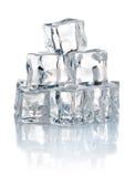 冷多维数据集冰堆 免版税库存照片