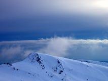 冷天空 库存图片