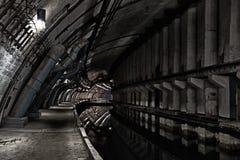 从冷战的地下地堡 库存图片