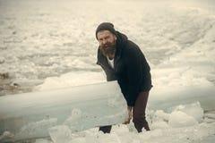 冷气候和冰河时期 免版税库存图片