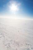 冷沙漠冰 图库摄影