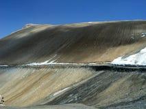 冷沙漠 库存图片