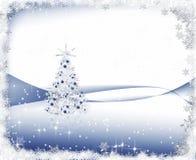 冷淡的圣诞节 向量例证