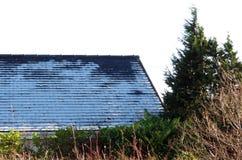 冷淡的屋顶12 06pm 免版税图库摄影