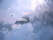冷淡的模式视窗冬天 图库摄影