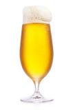 冷淡的玻璃杯啤酒 库存照片
