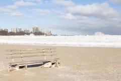 冷漠的蒙特罗斯海滩 库存图片