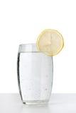 冷玻璃杯水 免版税库存图片