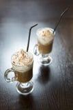 冷的咖啡 免版税图库摄影