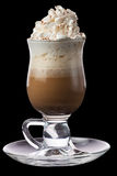 冷的咖啡 库存图片