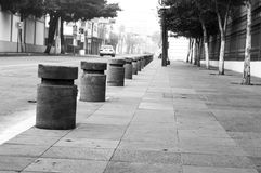 冷的城市 免版税图库摄影