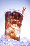 冷的夏天饮料 库存照片