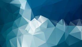 冷的多角形背景 免版税图库摄影