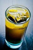 冷的威士忌酒和焦炭 库存图片