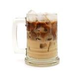 冷的新鲜的冰冻咖啡 免版税库存照片