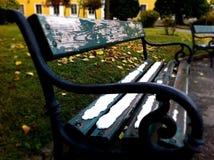 冷的椅子 库存照片