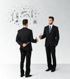冷酷的企业概念 免版税图库摄影