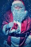 冷静圣诞老人 库存照片