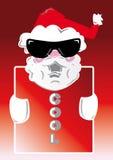 冷静圣诞老人 免版税库存照片