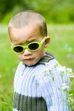 冷静的男孩 免版税图库摄影