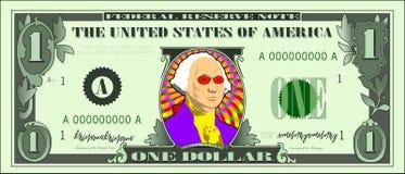 冷静美元乔治 免版税库存图片