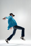 冷静舞蹈演员 库存图片