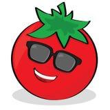 冷静蕃茄 向量例证