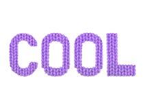冷静 颜色紫色 免版税库存照片