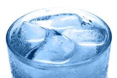 冷饮料冰 库存图片