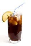 冷饮料玻璃 免版税库存图片