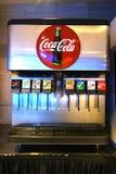 冷饮柜机器 免版税库存照片