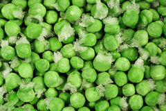 冷冻绿豆 库存照片
