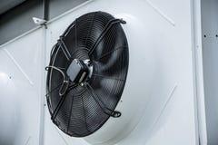 冷却风扇透气 免版税库存图片