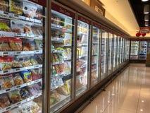 冷冻食品 免版税库存图片