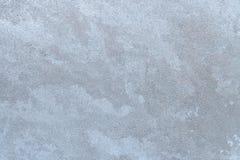 冻冰冷的冬天窗玻璃纹理  库存图片