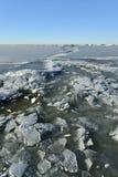 冻海 免版税库存图片