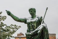 冻皇帝奥古斯都 库存图片