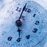 冻结时间 免版税库存照片