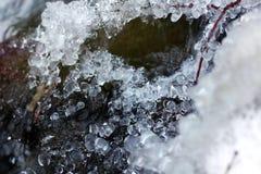 冻结水 免版税库存图片