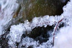 冻结水 库存照片