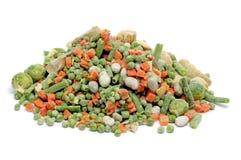 冻结混合蔬菜 免版税库存照片