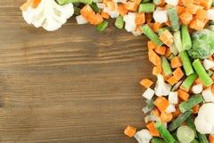 冻结混杂的蔬菜 库存图片