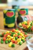 冻结混杂的蔬菜 免版税库存图片
