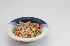 冻结混杂的蔬菜 库存照片