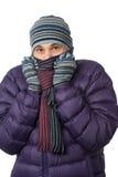 冻结的人 免版税库存照片