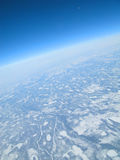 冻结的地球 免版税图库摄影