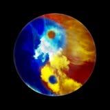 冻结的平衡火 向量例证