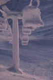冻结的推力 免版税库存照片