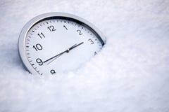 冻结的时间 免版税库存图片